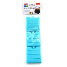 3x Kühlakkus Mini Kühlakku Kühlelement für Kühlbox Kühltasche