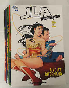JLA CLASSIFIED completa 8 volumi - Dc Comics - Planeta