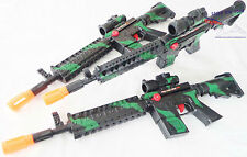 4X Toy Machine Guns Military Soldier M-16 Toy Rifles Toy Gun MEGA SET