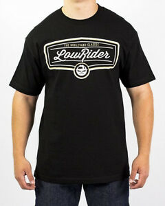 T-Shirt Herren Grau Retro Bonanzarad Low Rider Top Designe Vintage