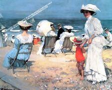 Sur la plage, 1907 artwork par Selby IMPRIME