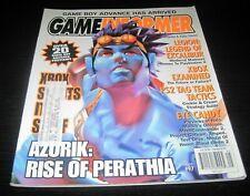 Vintage Game Informer Magazine Nintendo PS Nes Sega video games 2001 issue 97