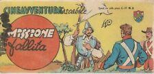 STRISCIA CINEAVVENTURA TASCABILE 5 EDIZIONE FANTERA 1952