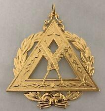 New Freemason Royal Arch Mason Grand Secretary Officer Collar Jewel