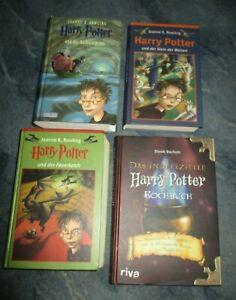 4 Harry Potter Bücher Inkl Harry Potter Kochbuch Sammlung