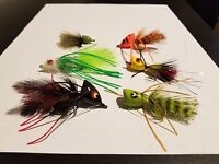 6 Bass and Panfish Flies Assorted (FlyH2O) Umpqua Sizes 8-2