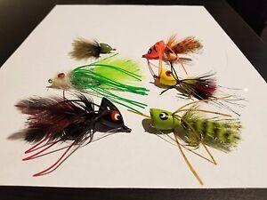12 (1 Dozen) Bass and Panfish Flies Assorted (FlyH2O) Umpqua Sizes 8-2