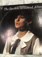 The Barbara Streisand Album Vinyl Lp Columbia PC 8807