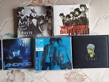 SET OF DBSK TOHOSHINKI ALBUMS KOREAN KPOP JPOP JYJ CHANGMIN U-KNOW