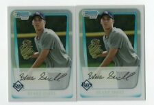 Blake Snell 2011 Bowman Chrome Rookie RC Refractor Lot x 2 BDPP52 Tampa Bay Rays