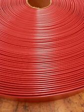 """2""""x40' Ft Vinyl Patio Lawn Furniture Repair Strap Strapping - Red"""