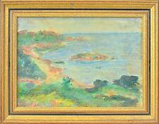 FRENCH ARTIST ALAIN CAPISI (*1923) »SOMMER AM MITTELMEER« FRANKREICH 29 X 37 CM