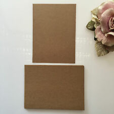20 x C6   Kraft Brown Card For Wedding invitation or Carft  250gsm