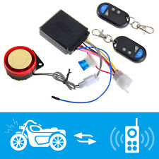 Système d'alarme Antivol Avertisseur 2 Télécommande Etanche pour Moto Scooter