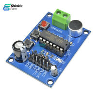 ISD1820 Voice Board Sound Recording Recorder Playback Module+Microphone