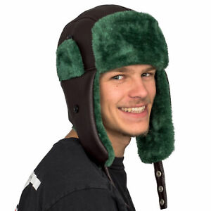 National Lampoon's Christmas Vacation Cousin Eddie Trapper Faux Fux Hat