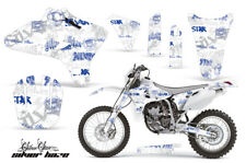 Dirt Bike Graphics Kit Decal Wrap For Yamaha WR250 WR450F 2005-2006 SSSH BLU WHT