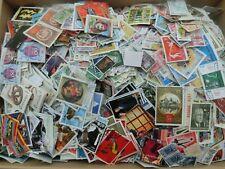 3 Kg Briefmarken alle Welt, Sondermarken, Freimarken gestempelt, ohne Papier