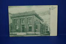 Vintage 3231 Savings Bank, Waltham, Massachusetts, B&W Post Card, Pc3