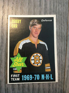1970-71 O-Pee-Chee  BOBBY ORR  All Star VINTAGE BEAUTY!