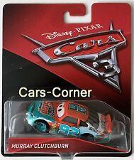 Disney Pixar Cars 3 SPUTTER STOP No. 92/Murray Clutchburn Mattel 2016 nouveau neuf dans sa boîte
