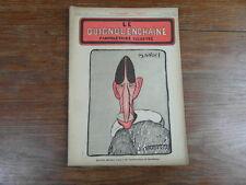 Revue LE GUIGNOL ENCHAINE PAMPHLETAIRE ILLUSTRE No 9 (10 Juil.1922) G. MANDEL
