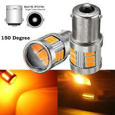 2x 12V 18 SMD BAU15S 7507 LED Ampoule Clignotant Turn Signal Canbus sans Erreur