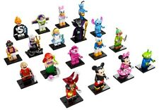 LEGO 71012 MINIFIGURE DISNEY SERIES, Full Set of 18 minifigures, Complete set