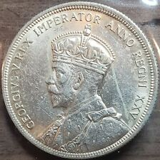 1935 CANADA $1 VOYAGERS King George V Silver Dollar Coin Key Date