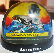 Save The Earth Snow Dome Snow Globe