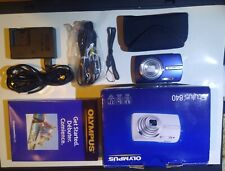 Olympus Stylus 840 8Mp Digital Camera With 5x Optical Zoom Blue New/Other.