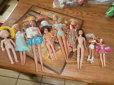 Vintage Barbie and Other Dolls set of 8