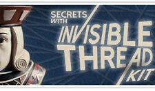 SECRETS OF LEVITATION KIT INVISIBLE THREAD WAX & DVD MAGIC TRICKS LEVITATE FLOAT