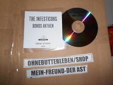 CD Pop Infesticons - Bombs Anthem (4 Song) Promo NINJA TUNE / BIG DADA