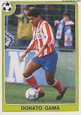 N°068 DONATO GAMA ATLETICO MADRID CROMO PANINI FUTBOL 93 STICKER LIGA 1993