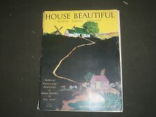 1928 MAY THE HOUSE BEAUTIFUL MAGAZINE - GREAT PHOTOS & ADS - ST 619