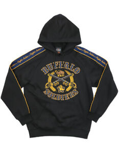 BUFFALO SOLDIER  US ARMY Pullover Hoody Jacket 1866 9th 10th cavalry Hoodie ARMY