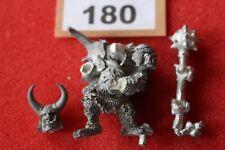 Games Workshop Warhammer Chaos Ogres Champion Mutant royaumes Fantasy Metal Épuisé