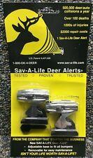 Sav-A-Life Deer Alert Deer Warning Device (2 pk) Chrome