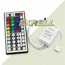 Telecomando Centralina IR Infrarossi 44 Tasti per LED RGB Striscia DC12V 72W