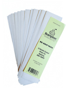 BRAMPTON TECHNOLOGIES 30 PACK OF SOLVENT ACTIVATED GOLF GRIP TAPE STRIPS