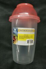 New listing Large Salad Shaker w/Removable Dressing Pot Lid Lunch Picnic On-The-Go Pink 25oz