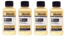 4 X Jerome Russell Bblonde Cream Peroxide 40vol 12%