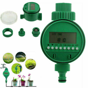 Wasserzeitschaltuhr Bewässerung LCD Automatische Wasser Zeitschaltuhr Timer