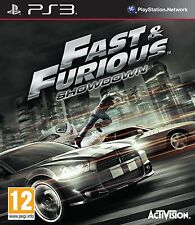Ps3 gioco quasi e & the Furious: Showdown NUOVO SONY PLAYSTATION 3