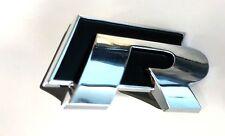 VW GOLF VI R GRIGLIA RADIATORE ANTERIORE EMBLEM BADGE LOGO ORIGINALE
