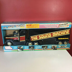"""Vintage Nylint Metal Muscle """"The Sound Machine"""" Road Rumbler New in Box"""