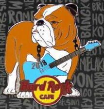 Hard Rock Cafe Online 2018 Dog Series Pin # 3/12 English Bulldog - Le 100!