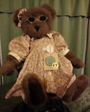 "Boyd'S Bears Corinna Toby Winner - 16"" Girl Teddy Bear Jointed w Tags sunglasses"