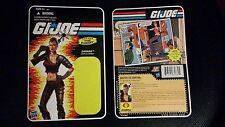 Zarana Gi Joe action figure factory direct unused card backing 2011 Hasbro